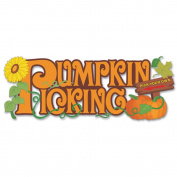 Jolee's Harvest Stickers-Pumpkin Picking
