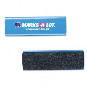 Marks-A-Lot 29812 Marks-A-Lot Dry Erase Board Eraser- Felt- 5 1/2w x 1 7/8d x 1 1/4h