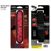 Nite Ize LED Adjustable Arm / Leg Marker Band Red