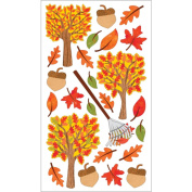 Sticko 120807 Sticko Harvest Stickers-Time For Fall