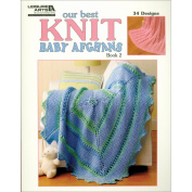 Leisure Arts Our Best Knit Baby Afghans, Book 2
