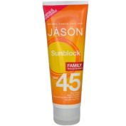 Jason Natural Products 0401125 Sunbrellas Family Block Natural Suncare SPF 36 - 120ml