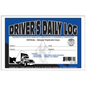 J.J. Keller 602L Triplicate Drivers Daily Log Book with Carbon - Recap and Simplified DVIR