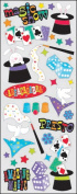 Sticko 473458 Puffy Classic Stickers-Magic Show