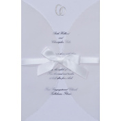 Wilton 1008-708 Invitation Kit 25-Pkg-Infinity