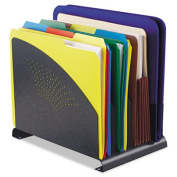 Steelmaster 2644500A3 Contemporary Organiser 4 Sections Steel 8 .38 x 12 x 7 .5 Granite
