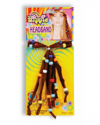 Deluxe Hippie Beaded Costume Headband