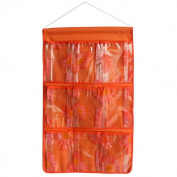 Blancho Bedding BN-WH047 Sunflowers Orange/Wall Hanging/ Wall Organizers/Baskets/ Hanging Baskets