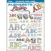 Leisure Arts 307202 Leisure Arts-Charts For Less - Alphabets Galore