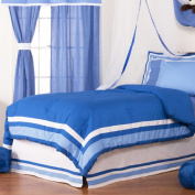 One Grace Place 10-18b054 Simplicity Blue Twin Comforter
