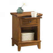 Home Style 5180-42 Arts & Crafts Night Stand- Cottage Oak Finish Finish