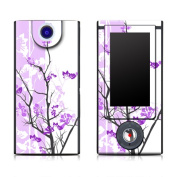 DecalGirl SBHD-TRANQUILITY-PRP Sony Bloggie HD Skin - Violet Tranquility