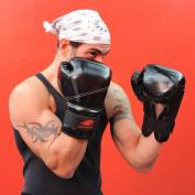 Lion Martial Arts MMA7545-16 Kick Boxing Glove Pair 470ml - Black