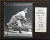 C & I Collectables 1215FELLERST MLB Bob Feller Cleveland Indians Stat Plaque