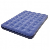 Pure Comfort 6007FLB Low Profile Full Size Flock Top Air Bed