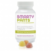 SmartyPants Adult Gummy Multivitamin with Omega 3 + Vitamin D