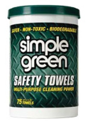 Simple Green. 13351 WIPESSAFETY TWL75CNT