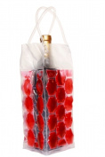 Natico 60-ICB904-RD WINE COOLER BAG 4 SIDED RED