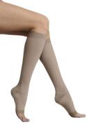 Juzo 2062ADSH III Medium Soft Open Toe Knee High 30-40mmHg - Silver