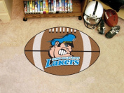Fanmats 5025 COL - 60cm . x90cm . - Grand Valley State University Football Mat 70cm . diameter