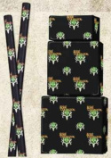 SIGNATURE PRODUCTS Bone Collector Gift Wrap 2sqm Black w/Green Logo