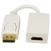 Eagle Electronics 184033 Display Port Male to HDMI Female Adapter