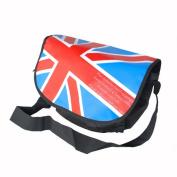 Blancho Bedding MB-B016-BLUE Union Jack Flag - Blue Multi-Purposes Messenger Bag / Shoulder Bag