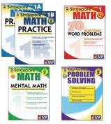 Carson Dellosa FS-704177 Singapore Math Bundle Gr 1 2