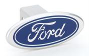 Defenderworx 06000 Ford - Blue - Image Line - 5.1cm . Billet Hitch Cover
