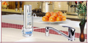Crystal Quest CQE-CT-00134 Countertop Replaceable Single Fluoride Water filter System
