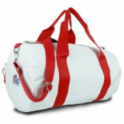 Sailor Bags 208-R Med. Rnd Duffel Red