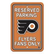 Fremont Die 80205 Philadelphia Flyers Plastic Parking Sign