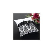 Lillian Rose RP735 BD Black Damask Pillow