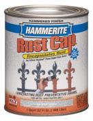 Masterchem 43105 0.9l Silver Grey Hammerite Rust Cap Enamel Paint