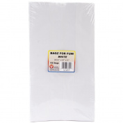 Hygloss Products HYG66101 Colourful Paper Bags White 100 per Pack