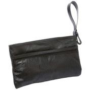 Embassy Italian Stone Design Genuine Lambskin Leather Jewelry Purse