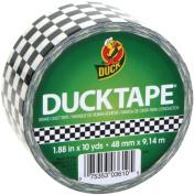 Shurtech 492143 Patterned Duck Tape 4.8cm . Wide 10 Yard Roll-Checkerboard