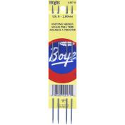 Boye 70389 Double Point Aluminium Knitting Needles 18cm . -Size 0