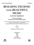 Alfred 00-EL02131 Building Technic With Beautiful Music- Book IV - Music Book