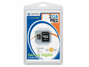 CENTON ELECTRONICS S1-MSDHC4-2G 2GB MicroSD Card with Adapter