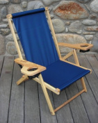 Blue Ridge Chair Works NFCH06WN Outer Banks Chair - Navy