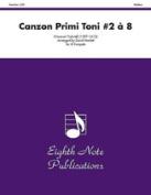 Alfred 81-TE23106 Canzon Primi Toni No. 2 8 - Music Book