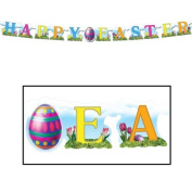 Beistle - 44830 - Happy Easter Streamer- Pack of 12