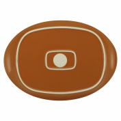 Rachael Ray 58353 Round & Square 35.6cm Oval Platter Orange