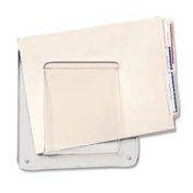 Deflect-O Corporation DEF65501 File-Chart Holder- 1 Compartment- 25cm .x5.1cm .x10-.130cm .- Clear