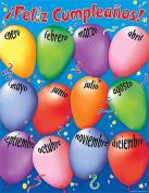 Teacher Created Resources 7691 Happy Birthday Spanish Chart