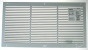 Hart Cooley American Metal 12in. X 6in. Return Air Grille 377W12X6
