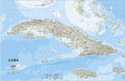 National Geographic Maps RE01020614 Cuba Classic Wall Map