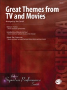 Alfred 00-33992 Great Themes from TV and Movies - Music Book