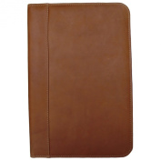 Piel Leather 2511 Legal-Size Open Notepad - Saddle